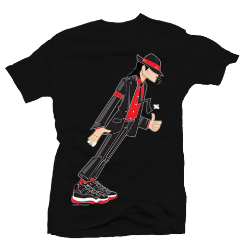 Smooth Criminal Black Bred Tee