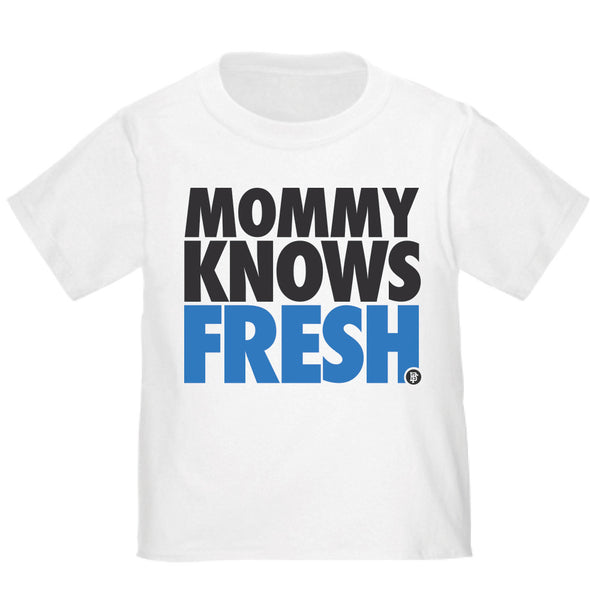Mommy Knows Fresh Sport Blue White Baby Fresh Tee