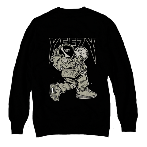 Moonrock Black Crewneck