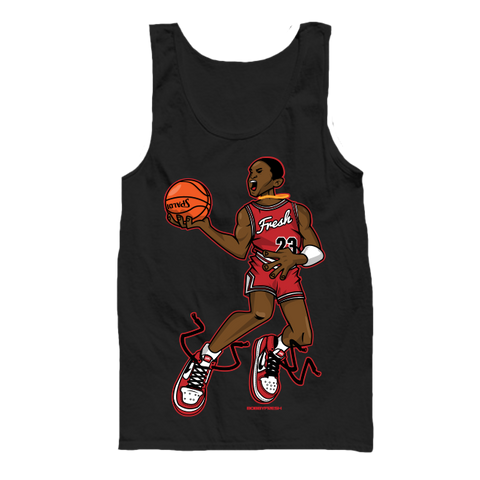 Mr. Chicago Black Tanktop