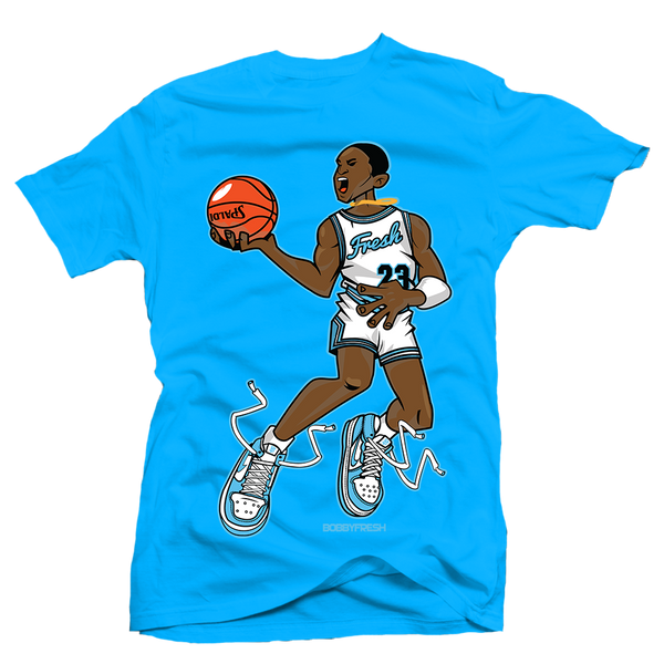 Mr Chicago Blue UNC Tee