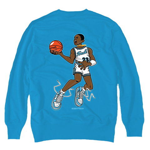 Mr. UNC Carolina Crewneck