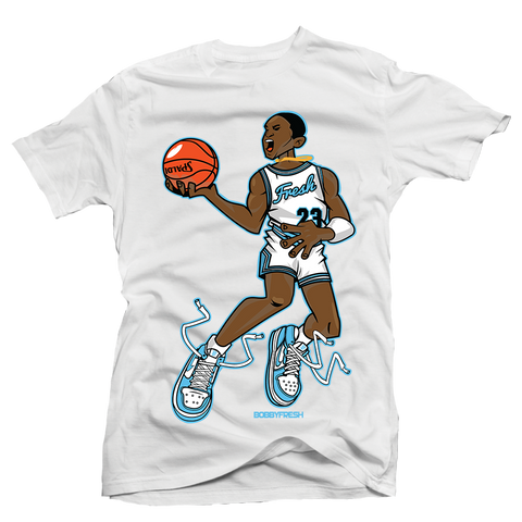 Mr Chicago White UNC Tee
