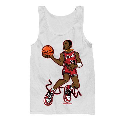 Mr. Chicago White Tanktop