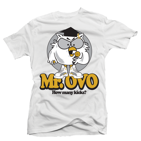 Mr OVO White Tee