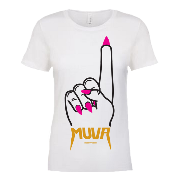Muva Womens White Tee
