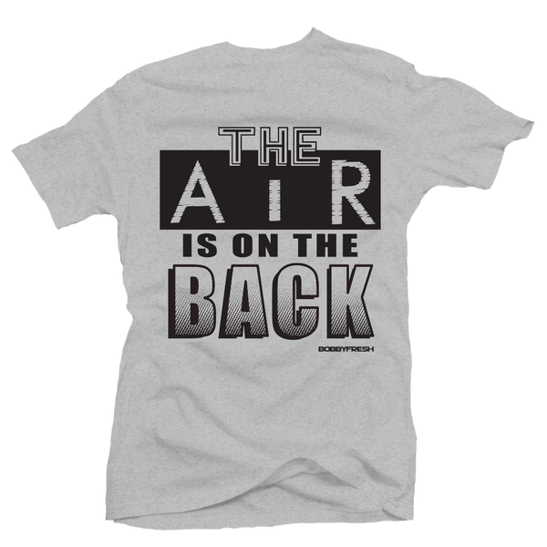 On the Back Grey/Black Tee