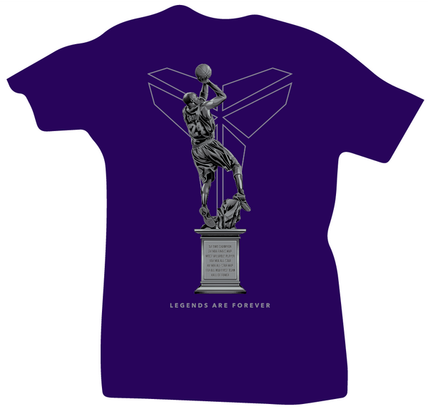 Hall of Fame Kobe Bryant Purple Tee - Bobby Fresh