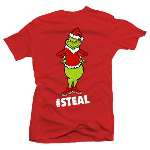#Steal Red Tee