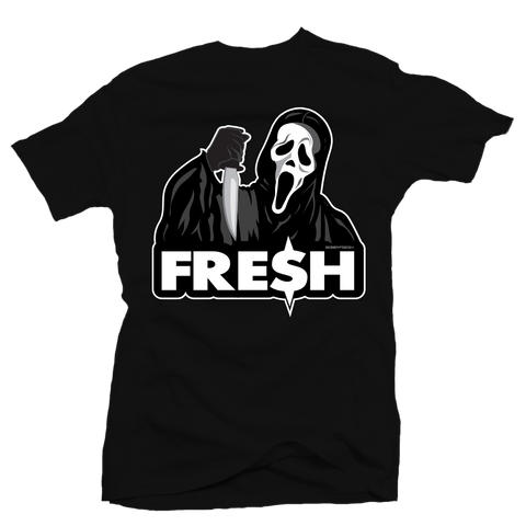 Scream Fresh Black Tee