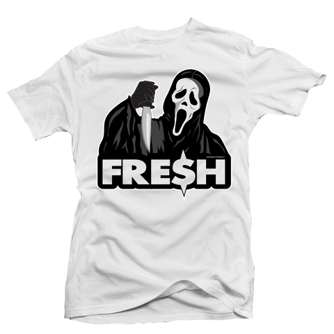 Scream Fresh White Tee