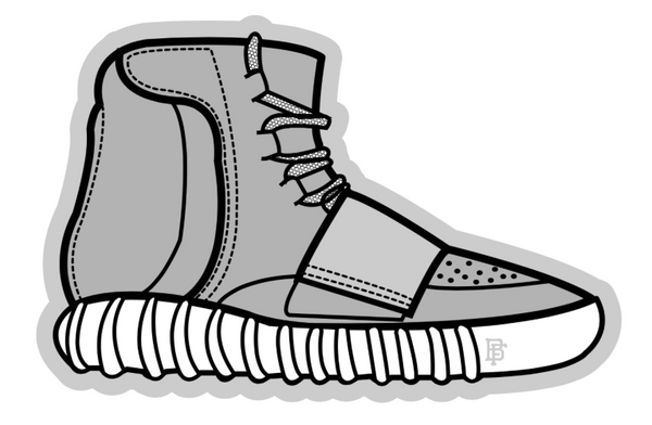 Yeezy Grey 750 Boost Air Freshener