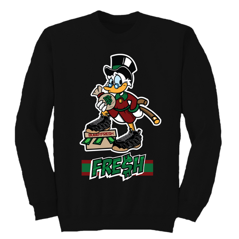 Scrooge (Black Gucci Foams) Crewneck