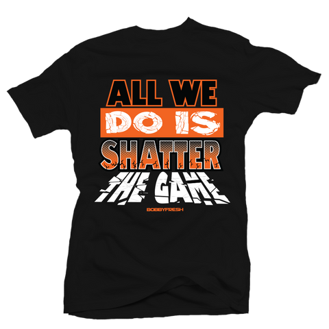 Shatter the Game Black Tee