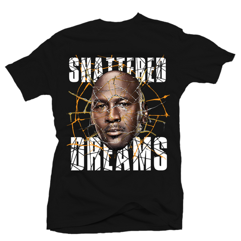 Shattered Dreams Black Tee