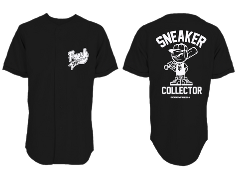 Sneaker Collector Baseball Jersey