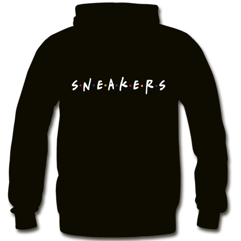 Sneaker Friends Sweater  Black Hoody