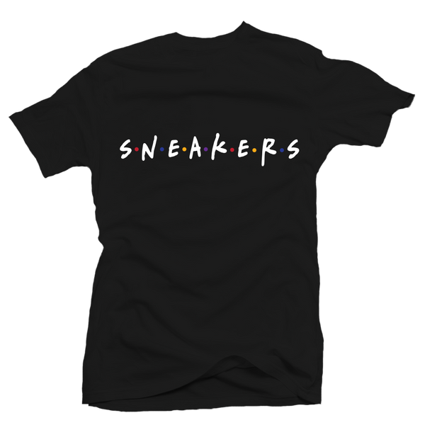 Sneaker Friends Sweater Black Tee