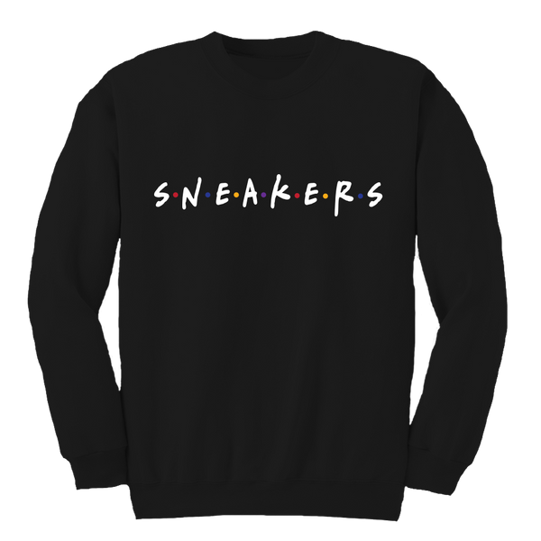 Sneaker Friends Sweater 7 Black Crewneck