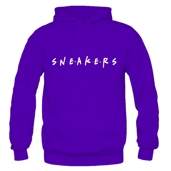 Sneaker Friends Sweater Purple Hoody