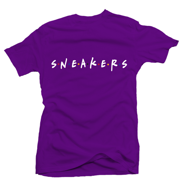 Sneaker Friends Sweater Purple Tee
