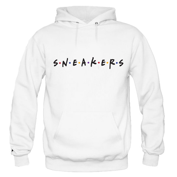 Sneaker Friends Sweater White Hoody