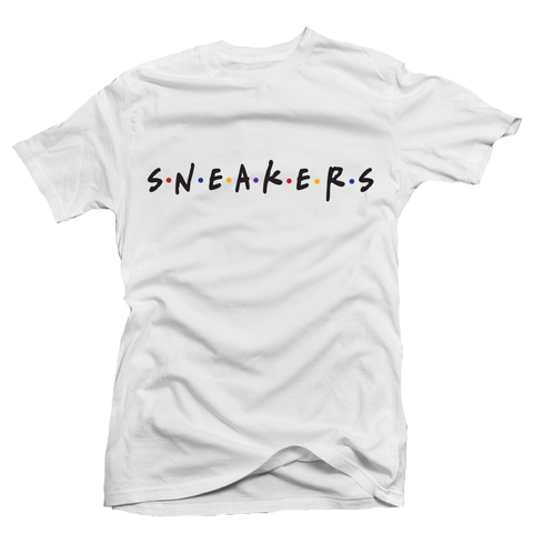 Sneaker Friends Sweater White Tee