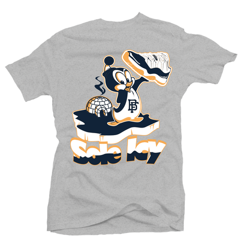 Sole Icy Heather/Navy Low Tee