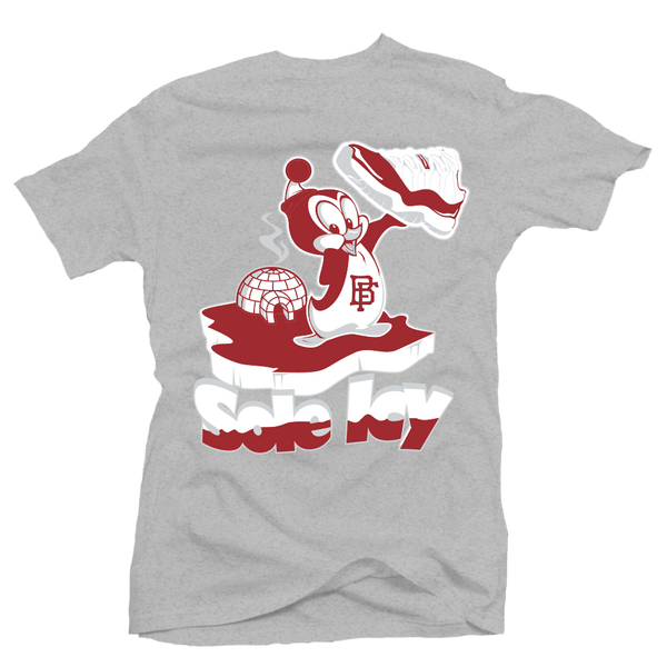 Sole Icy Heather/Red Low Tee