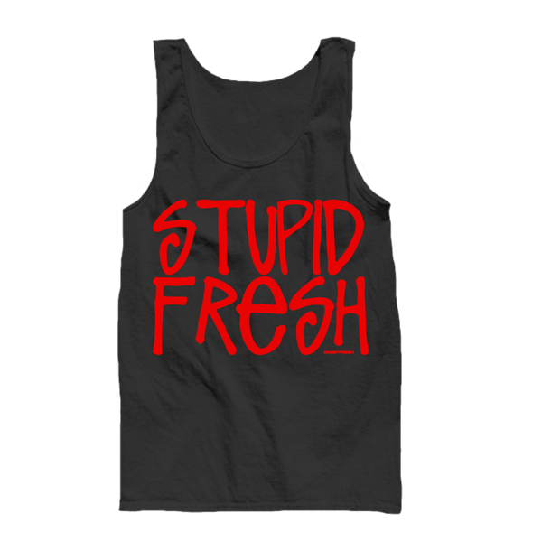 Stupid Fresh Black Tanktop