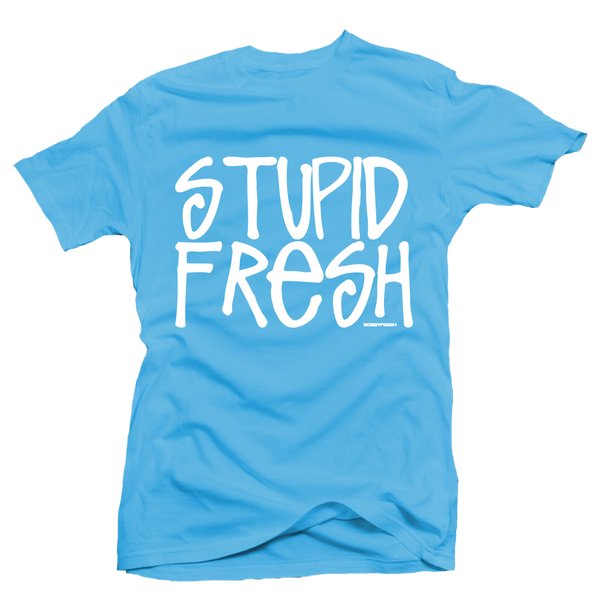 Stupid Fresh Blue UNC Tee