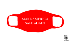 Make America Safe Again Red Mask