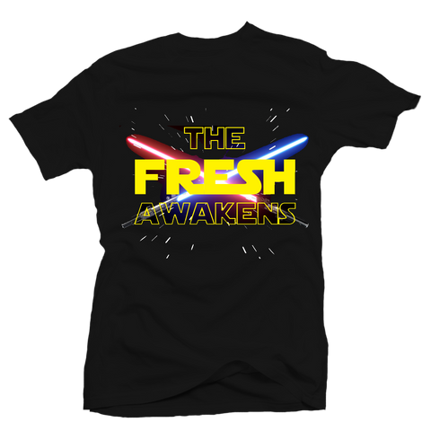 The Fresh Awakens Black Tee