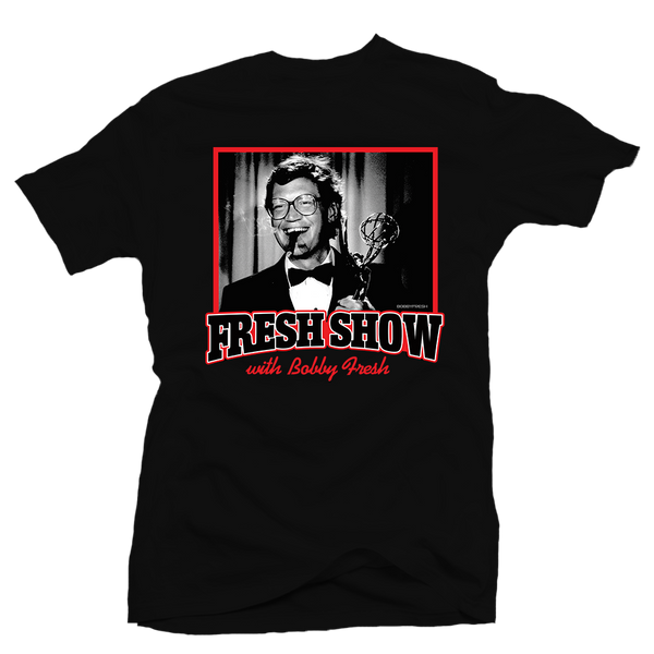The Fresh Show Black Tee
