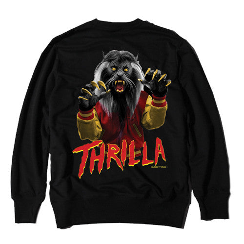 Thrilla Ferrari Black Crewneck
