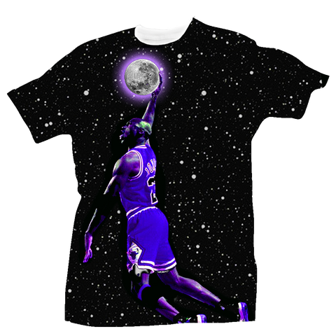 To the Moon All Over Tee