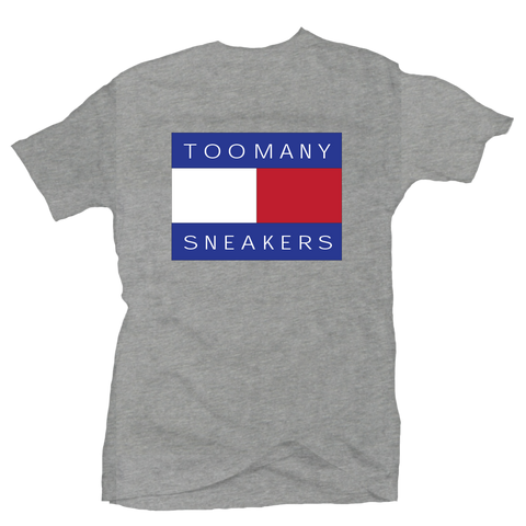 Too Many Sneakers Grey Tee