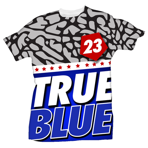 True 23 All Over Tee