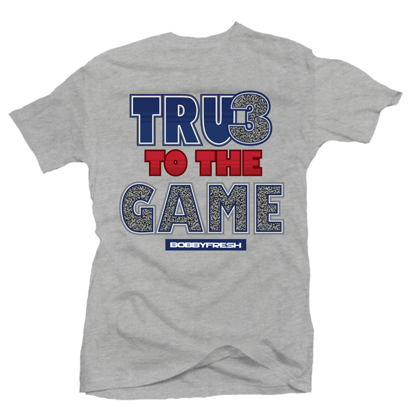 True to the Game Heather Tee
