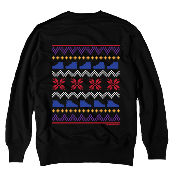 Ugly Sweater 7 Black Crewneck