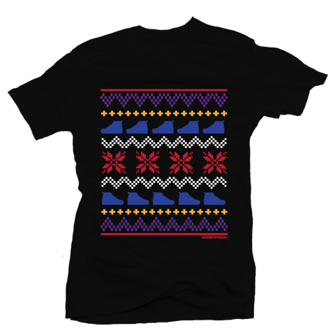 Ugly Sweater 7 Black Tee