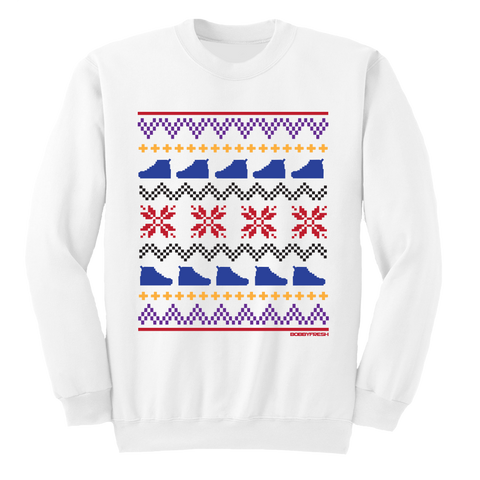 Ugly Sweater 7 White Crewneck