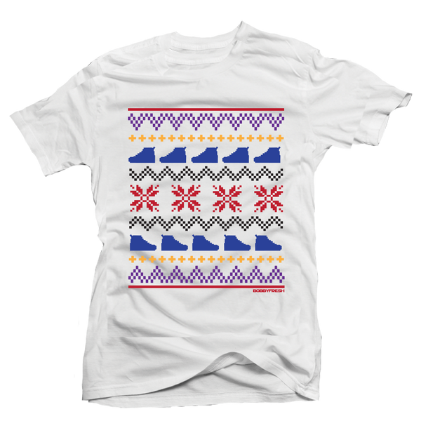 Ugly Sweater 7 White Tee - Bobby Fresh