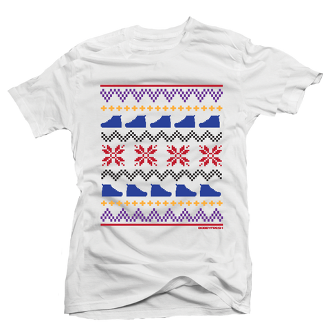 Ugly Sweater 7 White Tee