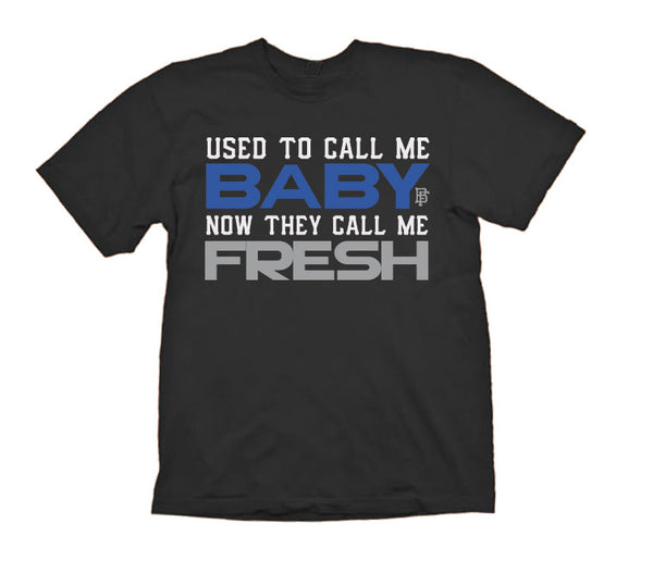 Call Me Baby Sport Blue Baby Fresh Black Tee