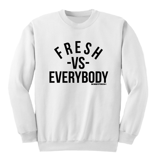 VS White Crewneck