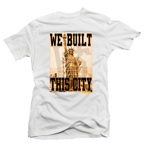 We Built this White Tee