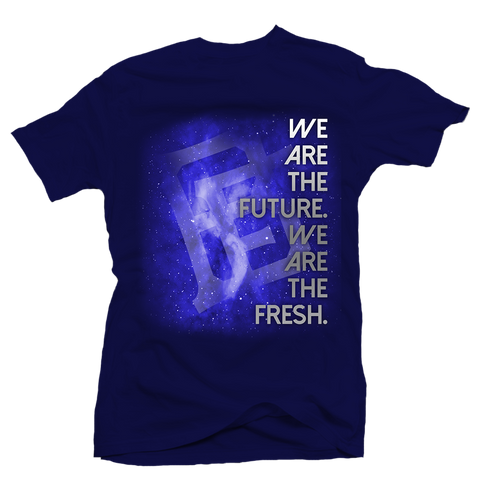 We are the Future Blue Tee