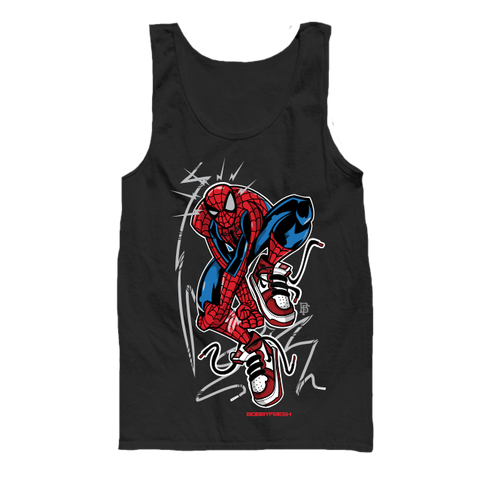 Web One Black Tanktop