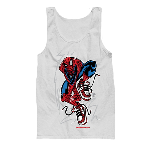 Web One White Tanktop